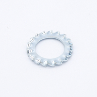M1 internal serrated washer DIN6798A